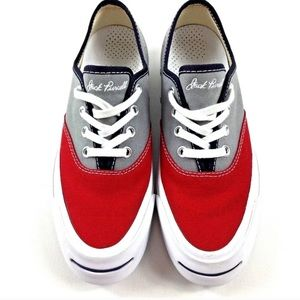 Jack Purcell Converse | Gray Red Sneakers Shoes